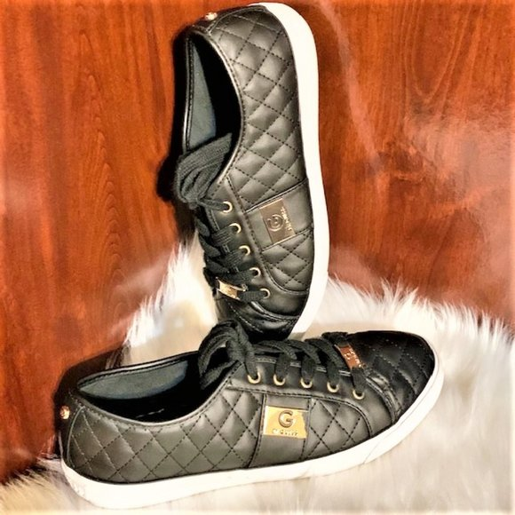Black Quilted Sneakers | Poshmark